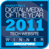 Marketing Digital Media of the year 2011 Website Winner Singapore