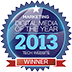 Digital Media of the Year - Top Tech Category 2013 by Marketing Magazine