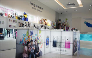 First Sony Ericsson Concept Store to Feature New Retail Design Opens in Singapore