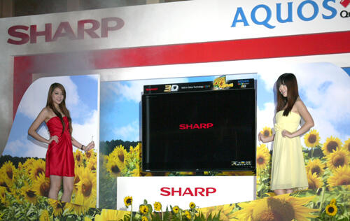 Sharp Slips Into The 3D Pool