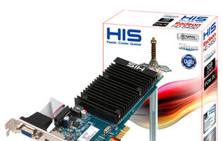 HIS Introduces HIS 5450 Silence Eyefinity, the World's First DirectX 11 PCIe x1 Graphics Card with Eyefinity Technology