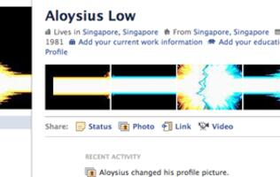 Fun with the New Facebook Profile
