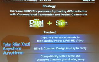 Get Exact and Active - Sanyo's 2010 Dual Camera Lineup