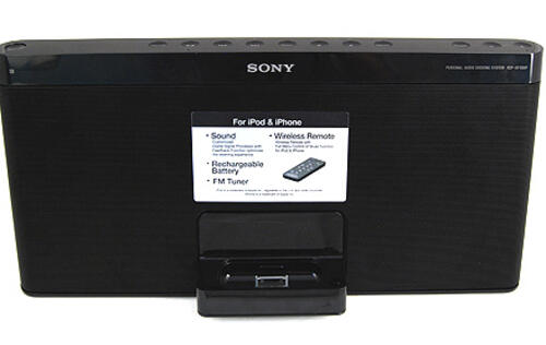 Sony RDP-XF100iP iPod Speaker - Portable Songstress