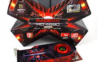 First Looks: XFX Radeon HD 4890 XXX Edition
