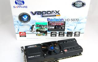 Sapphire HD 5870 Vapor-X - The Cool Dude