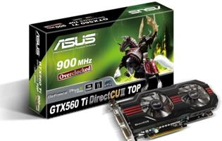 ASUS Launches DirectCU II Graphics Cards with Dual Fan Cooling Design