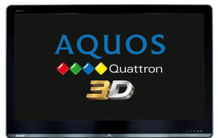 Sharp AQUOS Quattron 3D TV - Three Dimensional Four-play