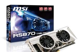 MSI Launches R5870/R5850 with Twin Frozr II Cooler