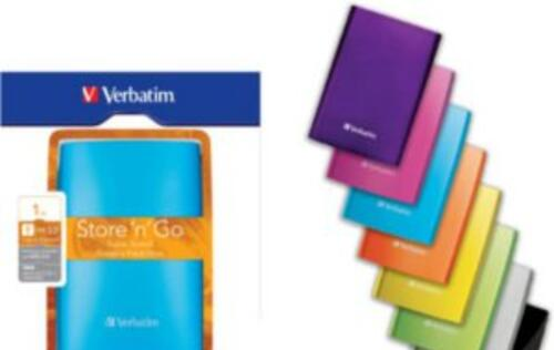 Verbatim's New Portable SuperSpeed USB 3.0 Hard Drives (500 GB and 1 TB) Announced