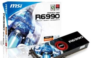MSI Announces Radeon R6990-4PD4GD5