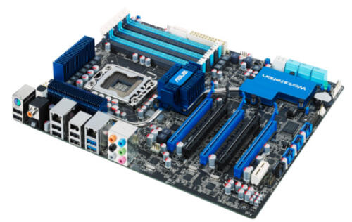 ASUS Launches the P6X58-E WS Workstation Motherboard