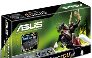 ASUS Debuts GTX550 Ti DirectCU Ultimate and TOP Edition Graphics Cards