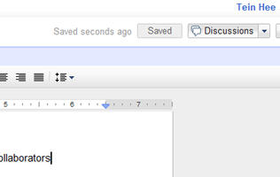 Google Adds Discussion to Google Docs