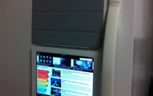 Turn your iPad 2 into a Fridge Magnet with Smart Cover