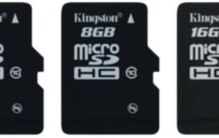 Kingston Digital Extends the Speedy Class 10 microSDHC Family