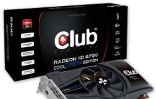 Club 3D Introduces Radeon HD 6790 CoolStream Edition 1GB GDDR5