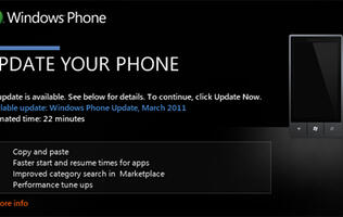 Windows Phone 7 Copy and Paste Update Now Available