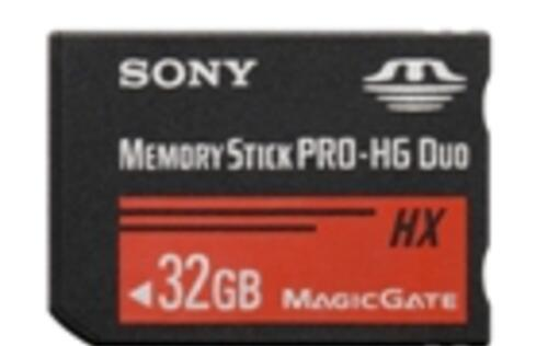 Sony Launches PRO-HG Duo HX Memory Stick