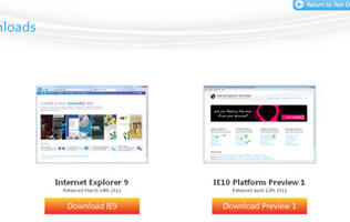 Microsoft Releases IE10 Platform Preview