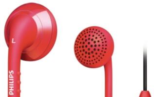 Philips Launches Bold Range of In-Ear Headsets