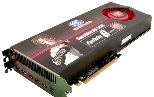 SAPPHIRE launches HD 5870 Eyefinity 6 Graphics Accelerator