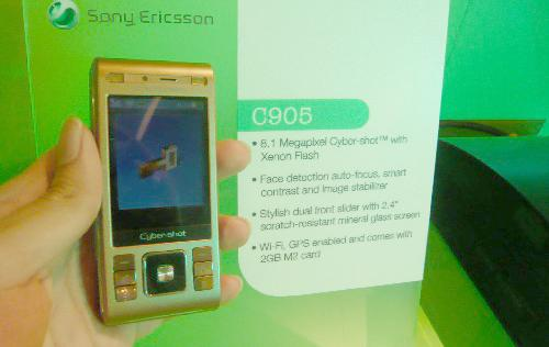 Game on with Sony Ericsson : CommunicAsia 2008 - The Sony