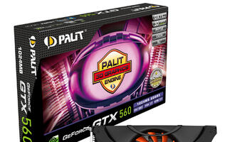 Brand New Coolers for New Palit GeForce GTX560 Graphics Cards