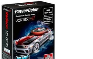PowerColor Introduces the PCS+ HD6770 Vortex II