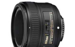Nikon's AF-S NIKKOR 50mm f/1.8G Lens Released