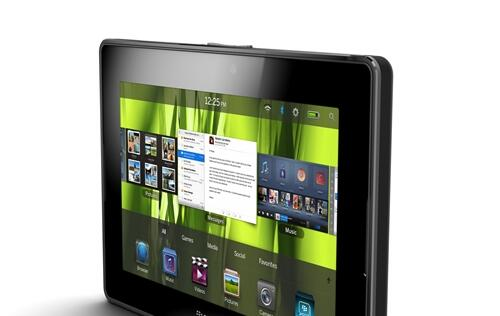 BlackBerry PlayBook - Latecomer to the Tablet Party