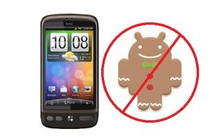 HTC Desire Might Not Get Gingerbread Update