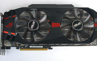 ASUS Matrix GTX580 Platinum - Over the Top