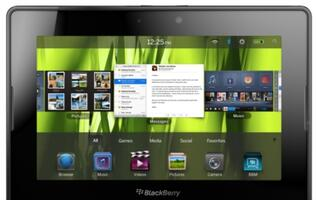BlackBerry PlayBook Tablet Available in Singapore From This Thursday