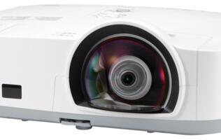 NEC M300XS - Huge Projection at a Short Distance