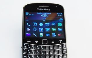 BlackBerry Bold 9900 - Gallant Warrior