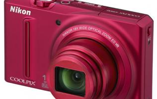 First Looks: Nikon Coolpix S9100