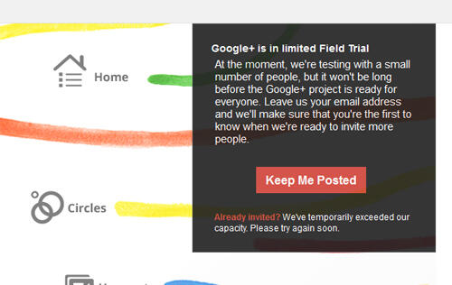 The Google+ Experiment