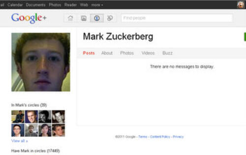 Surprises All Around in Zuckerberg's Appearance on Google+