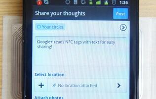 Local Software Developer Reveals NFC Functionality in Google+ App