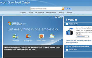 Microsoft Download Center Gets New Design
