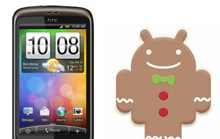 HTC Desire Gets Android Gingerbread Update by End July