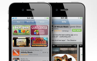 Average iPhone User Downloads 83 Apps Per Year