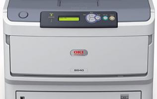 Oki B840dn A3 Mono LED Printer - The Speed of Light