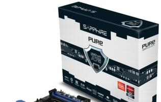 Sapphire Pure Platinum A75 Supports AMD APU Family