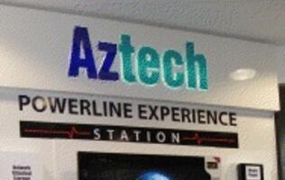 Aztech Powerline Experience Station Debuts at Challenger