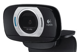 Logitech HD Webcam Allows Video Shooting On the Go