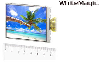 Sony Introduces WhiteMagic LCD Module with Added White Pixel