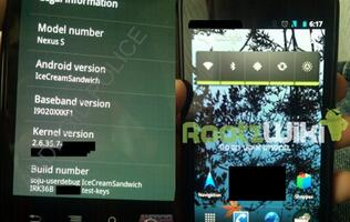Screenshots of Android Ice Cream Sandwich Leaked