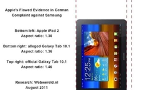 Apple Used Misleading Photo to Ban Sales of Samsung Galaxy Tab 10.1